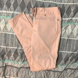 Maurices Pink Jeggings Size Small Regular